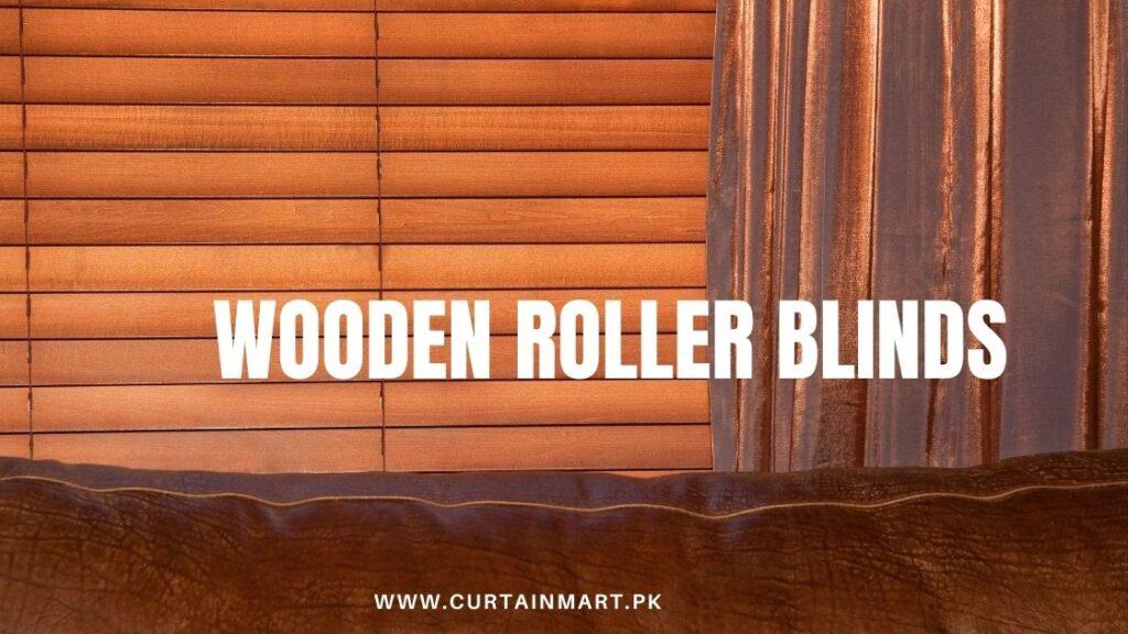 Roller Wooden Blinds